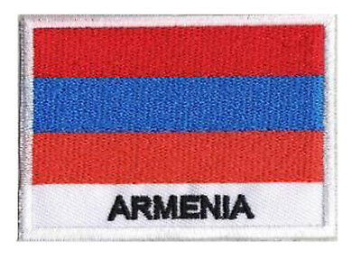 Patch écusson patche ARMENIE Arménie 70 x 45 mm Pays Monde