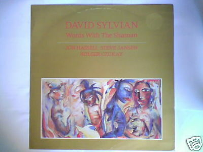 "DAVID SYLVIAN Words with the shaman 12"" UK CAN JAPAN"