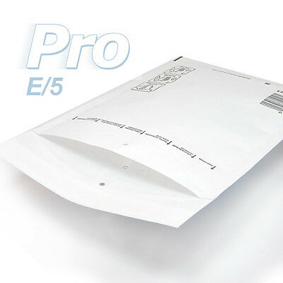 100 Enveloppes à bulles blanches gamme PRO taille E/5 format utile 210x265mm