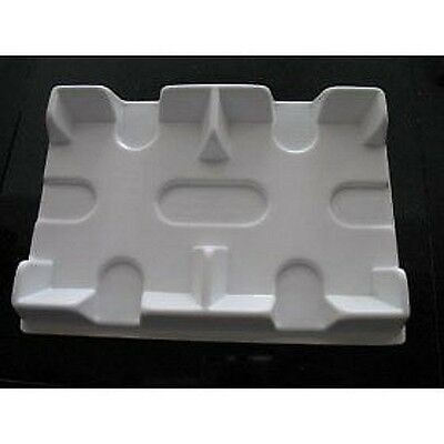 New 2 Deck Bicycle WHITE Plastic Playing Card Tray