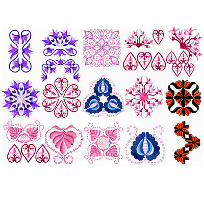"""ABC Designs 18 Classic Tablewear Machine Embroidery Designs Set for 4""""x4"""" Hoop"""