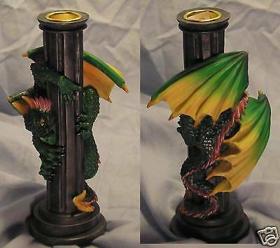 Dragon Looking Down Candle Stick ~~25 % OFF ~~