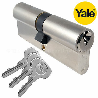 Yale Euro Cylinder Barrel Door Lock 6 Pin UPVC Door Aluminium Wood & PVC Doors