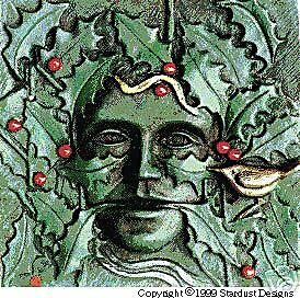 """holly king and wren greenman  """"green man"""" wall plaque for  outside  garden wicca"""