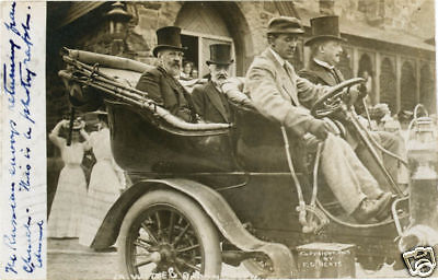 Sergei Witte Car Peace Conference Portmouth NH 1905
