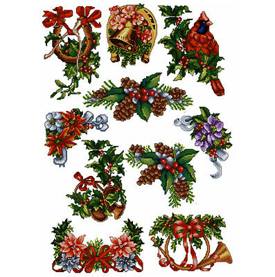 "ABC Designs Timeless Christmas Cross-Stitch Machine Embroidery Designs Set 5""x7"""