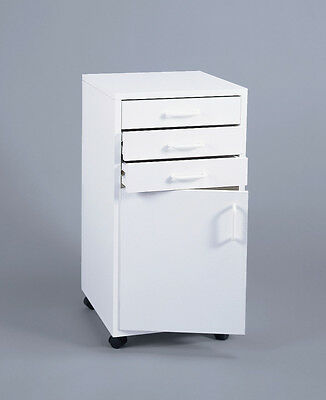 Dental/Medical ~~3-Drawer, 1-Door~~ MOBILE CABINET CART