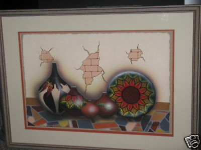 Tonia Redbird Original Painting Kiowa/ Native American