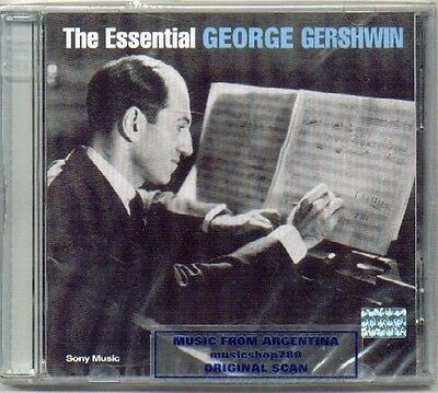 George Gershwin Essential Sealed 2 Cd Set Greatest Hits
