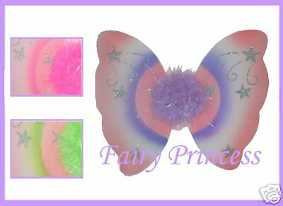 *¨* 12 Marabou Star Fairy Wings *¨* Princess Tinkerbell