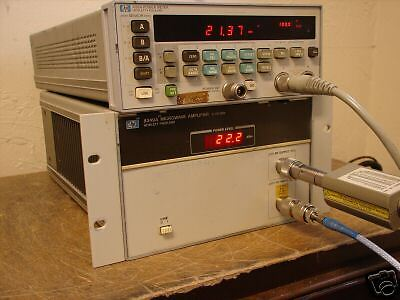 HP 8349A Microwave Amplifier, 2-20 Ghz