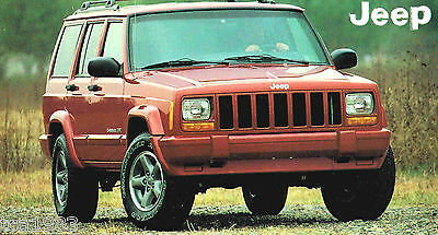 1998/1999 JEEP CHEROKEE 4.0 Ltd SPEC SHEET/Brochure