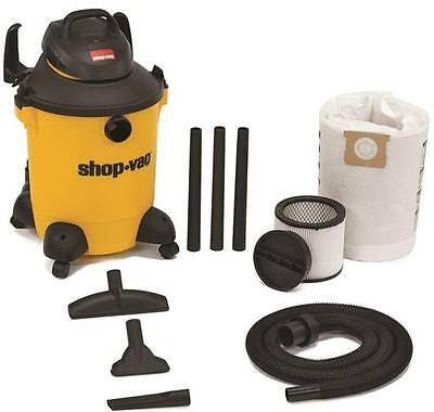 New Shop Vac 5951000 Ultra Plus 10 Gallon Wet Dry 4Hp Vacuum Cleaner Kit 2959005