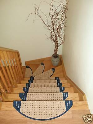 Set of 15 Carpet Stair Rugs Stair Treads Runners - ON SALE NOW!