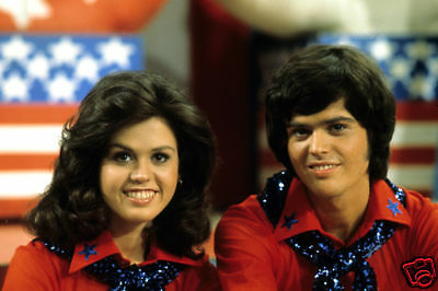 Donnie & Marie Osmond Rare 1970's Tv Show 8X12 Photo