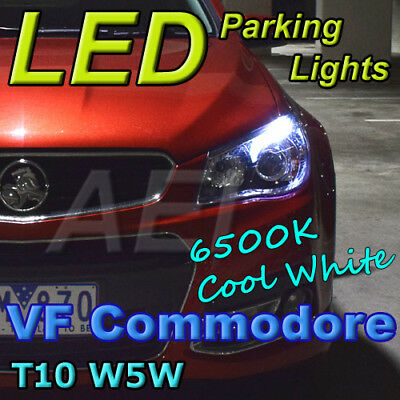 W5W T10 SMD Ultra White 6500K CANBUS Error-Free Parkers LED Bulbs suit Holden VF