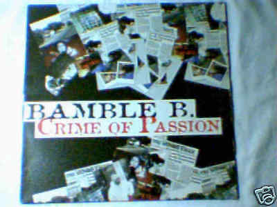 """BAMBLE B. Crime of passion 12"""" MIKE OLDFIELD TI.PI.CAL."""