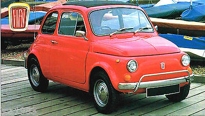 FIAT 500 L / 500L SPEC SHEET/Brochure/Catalog:1971,1972