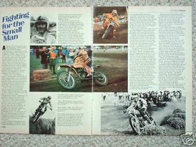 GASTON RAHIER MOTORCYCLE Racing Article/Photos/Pictures