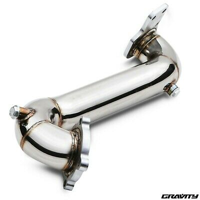 "3"" Pre De Cat Decat Race Exhaust Downpipe Pipe For Vauxhall Astra J Mk6 Gtc Vxr"