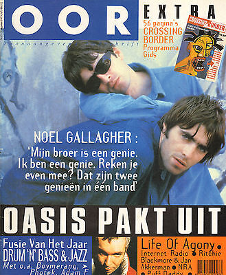 MAGAZINE OOR 1997 nr. 17 - OASIS / RITCHIE BLACKMORE /ECHO & BUNNYMEN/PUFF DADDY