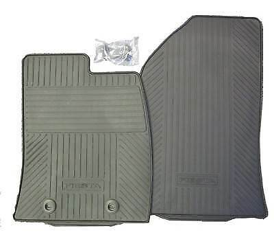 NEW Genuine Ford Fiesta MK6 2001-2008 Tailored FRONT Rubber Floor Mats