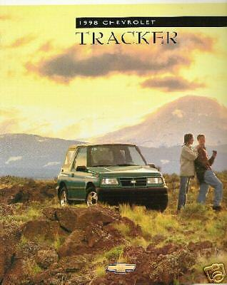 Mint Condition 1998 Chevrolet TRACKER Brochure 98 chevy