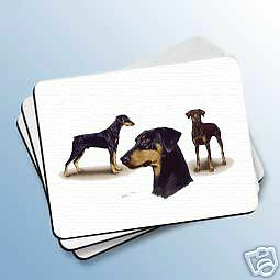 DOBERMAN Uncropped Dog Computer MOUSE PAD Mousepad