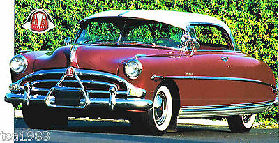 1951/1952/1953/1954 HUDSON HORNET SPEC SHEET/Brochure