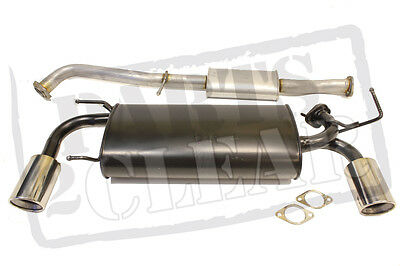 Centre & Rear Full Exhaust System Fairlady Fits Nissan 350z 3.5 Z33 280 295 310