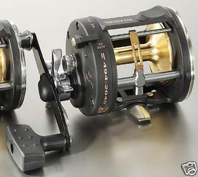 how to put fishing line on a multiplier reel