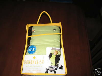NEW Bananafish Mountaineer Collection Stroller Blanket