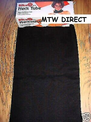 Motorcycle/skiing Black Thermal100% Cotton Neck Tube