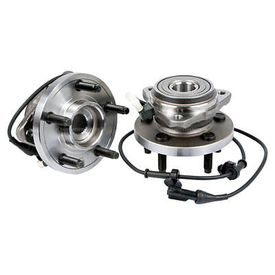 Pair New Front Left & Right Wheel Hub Bearing Assembly For Ford Ranger 4X4