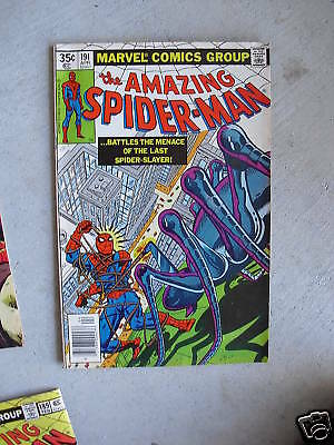 1979 Marvel Comic Book The Amazing Spider Man #191