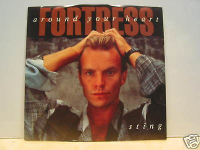 Sting - Fortress Around Your Heart - Rock 45 UNPLAYED