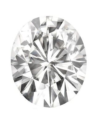 Loose Oval Forever Classic 7x5mm Moissanite = 1 CT Diamond with Certificate