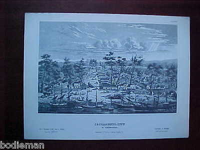 SACRAMENTO CITY-Numbered Print-Early View-1971