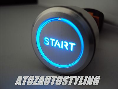 "LED BLUE Push Button STARTER Switch ONE TOUCH"" Savage"""