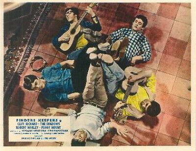 Finders Keepers Cliff Richard The Shadows Lobby Card