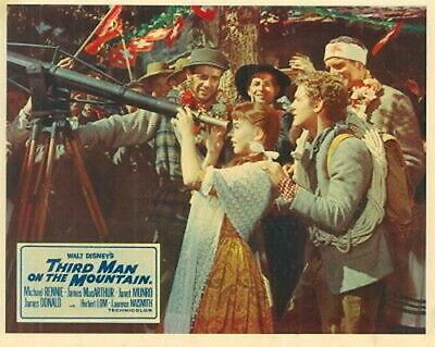 The Third Man On The Mountain Janet Munro Lobby Card