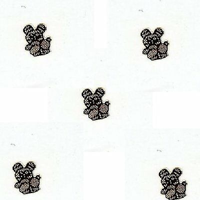 10  COPPER PANDA with Baby   Nail Top  CHARMs Wholesale