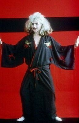 Deborah Debbie Harry Blondie Japanese Kimono Photo Rare