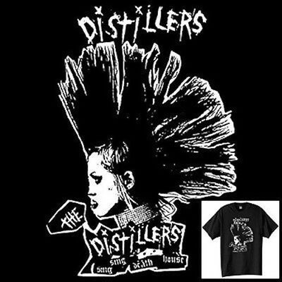 The Distillers T-Shirt Vintage Style Punk Rock Band Size S-6XL