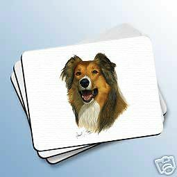 COLLIE Sable Dog Computer MOUSE PAD May Mousepad NEW
