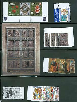 Vatican City 1999 Compete MNH Year Set