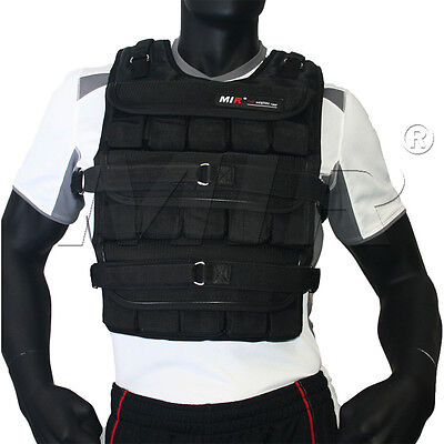 MiR Pro 50Lbs Weight Adjustable Weighted Vest *New*