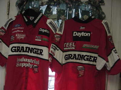 Greg Biffle Grainger  Craftsman Truck race used pit crew shirt XL