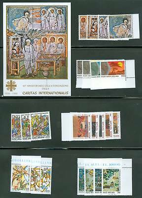 Vatican City 1990 Compete MNH Year Set