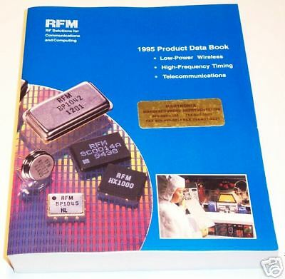 RF Monolithics PRODUCT DATA BOOK 1995 Wireless Telecom